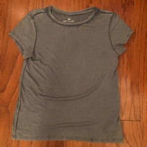 Two ribbed tops from American Eagle